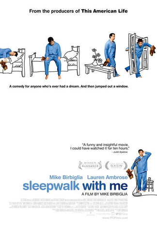 Sleepwalk with Me 27x40 Movie Poster (2012)