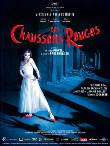 The Red Shoes (French) 11x17 Movie Poster (1948)
