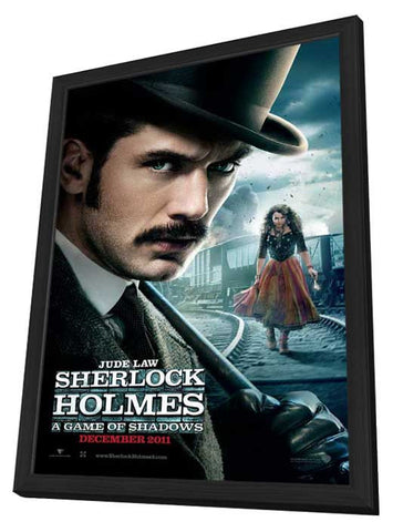 Sherlock Holmes A Game of Shadows 27x40 Framed Movie Poster (2011)