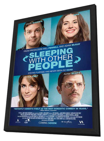 Sleeping With Other People (Canadian) 11x17 Framed Movie Poster (2015)