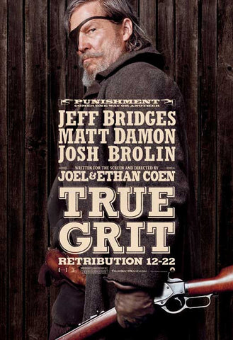 True Grit 27x40 Movie Poster (2010)