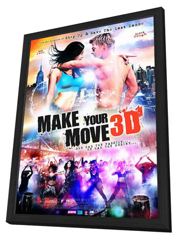 Make Your Move (Dutch) 27x40 Framed Movie Poster (2014)