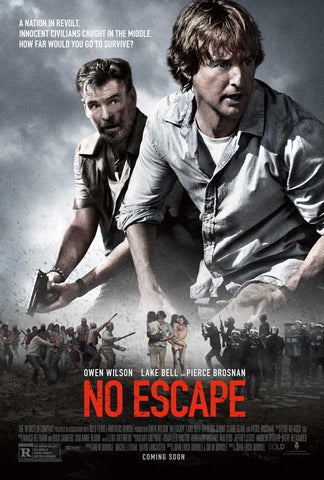 No Escape 27x40 Movie Poster (2015)