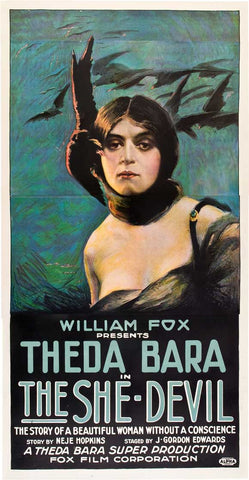 The She Devil 20x40 Movie Poster (1918)