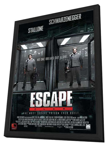 Escape Plan 11x17 Framed Movie Poster (2013)
