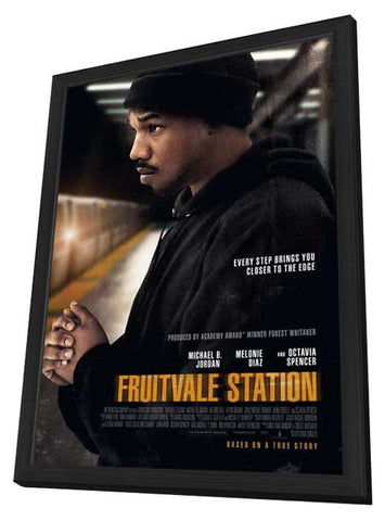 Fruitvale Station 11x17 Framed Movie Poster (2013)