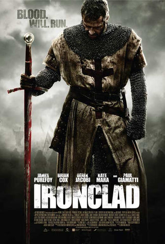 Ironclad 27x40 Movie Poster (2011)