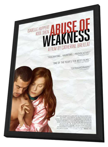 Abuse of Weakness 11x17 Framed Movie Poster (2014)