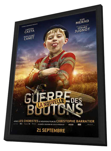War of the Buttons (French) 27x40 Framed Movie Poster (2012)