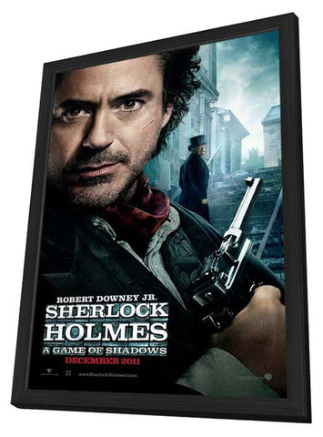 Sherlock Holmes A Game of Shadows 11x17 Framed Movie Poster (2011)