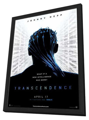 Transcendence 11x17 Framed Movie Poster (2014)
