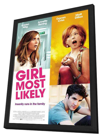 See Girl Run 11x17 Framed Movie Poster (2013)