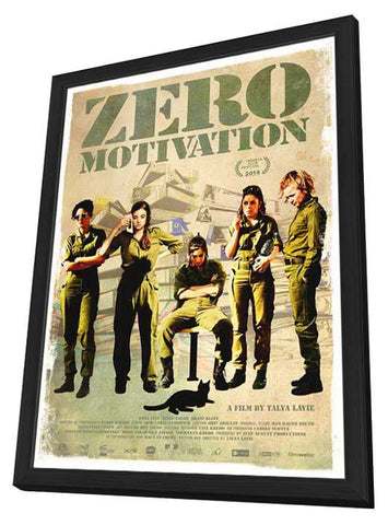 Zero Motivation (Canadian) 27x40 Framed Movie Poster (2014)