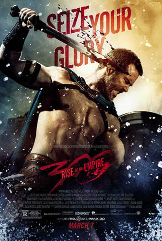 300: Rise of an Empire 11x17 Movie Poster (2014)