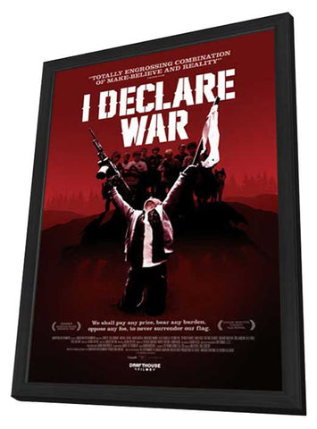 I Declare War (Canadian) 11x17 Framed Movie Poster (2013)