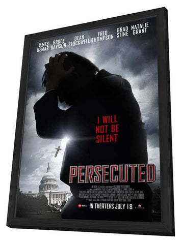 Persecuted 11x17 Framed Movie Poster (2014)