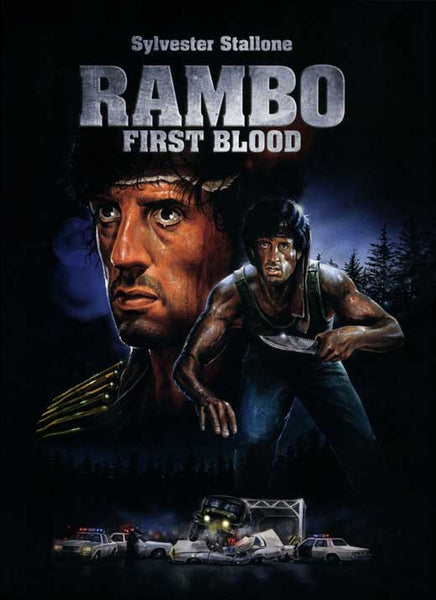 Rambo First Blood 27x40 Movie Poster 1982 Etriggerz Com