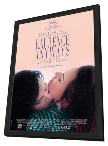Laurence Anyways (Belgian) 11x17 Framed Movie Poster (2013)