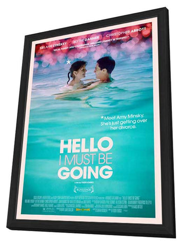 Hello I Must Be Going 11x17 Framed Movie Poster (2012)