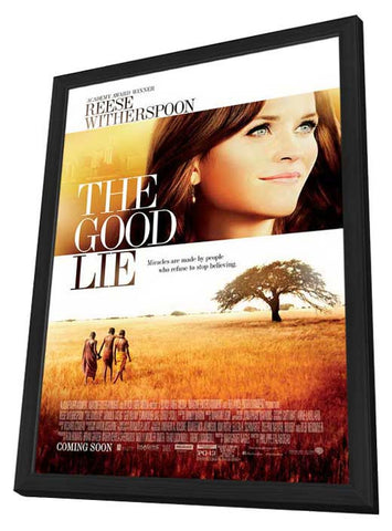 The Good Lie 11x17 Framed Movie Poster (2014)