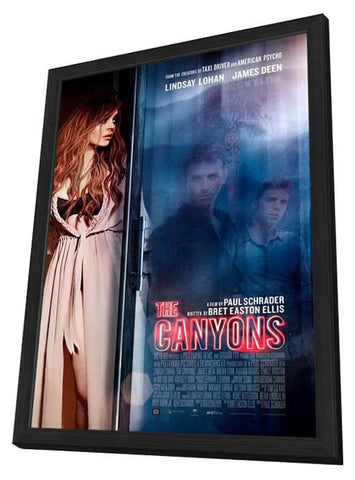 The Canyons 27x40 Framed Movie Poster (2013)