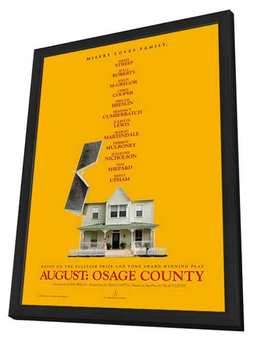 August: Osage County 27x40 Framed Movie Poster (2013)