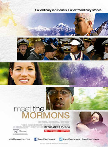 Meet the Mormons 11x17 Movie Poster (2014)