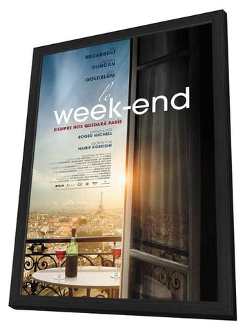 Le Week-End (Spanish) 27x40 Framed Movie Poster (2013)