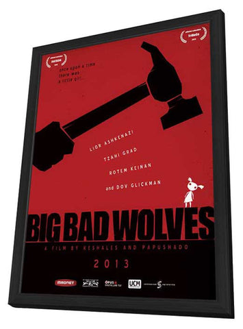 Big Bad Wolves 11x17 Framed Movie Poster (2014)