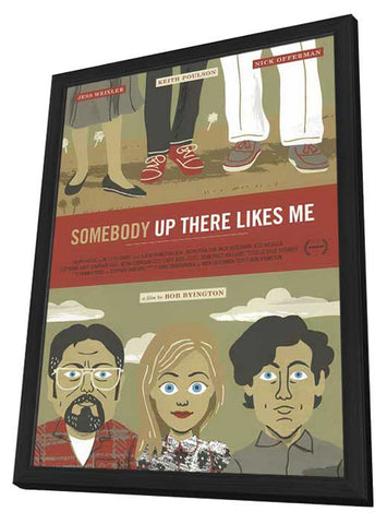 Somebody Up There Like Me 27x40 Framed Movie Poster (2013)