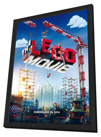 The LEGO Movie 27x40 Framed Movie Poster (2014)