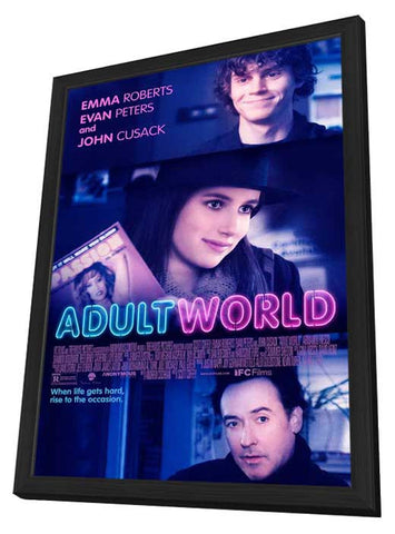 Adult World 11x17 Framed Movie Poster (2014)