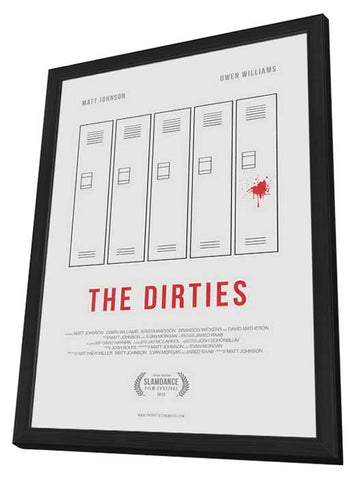 The Dirties 27x40 Framed Movie Poster (2013)