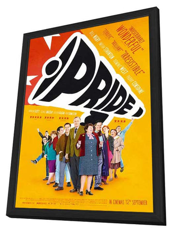 Pride (UK) 27x40 Framed Movie Poster (2014)