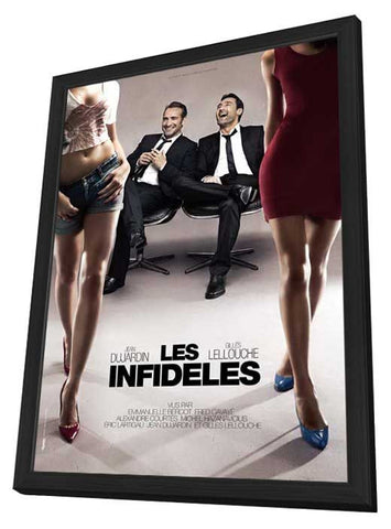 The Players (French) 27x40 Framed Movie Poster (2012)