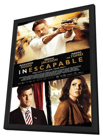 Inescapable 11x17 Framed Movie Poster (2013)