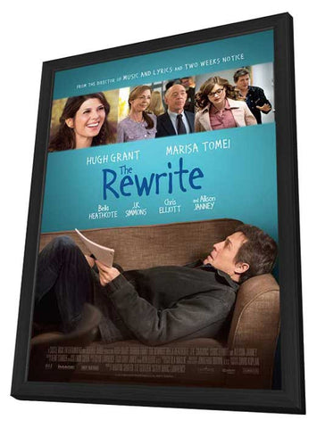 The Rewrite 27x40 Framed Movie Poster (2014)
