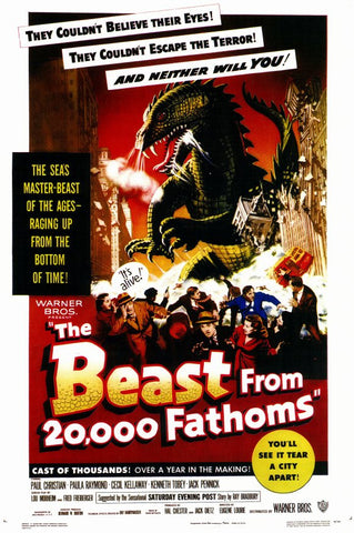 The Beast From 20,000 Fathoms 11x17 Movie Poster (1953)