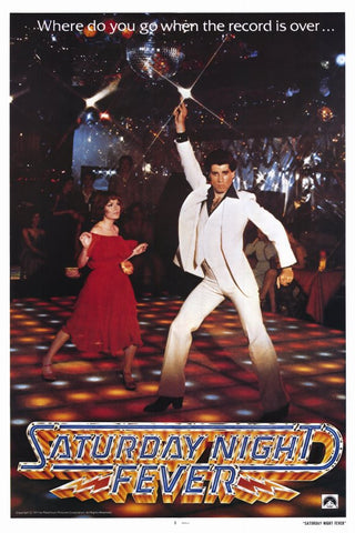 Saturday Night Fever 11x17 Movie Poster (1977)