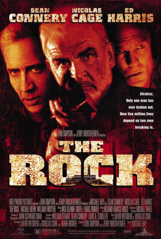 The Rock 27x40 Movie Poster (1996)