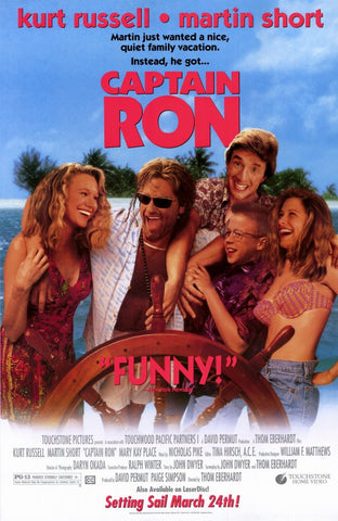Captain Ron 11x17 Movie Poster (1992)