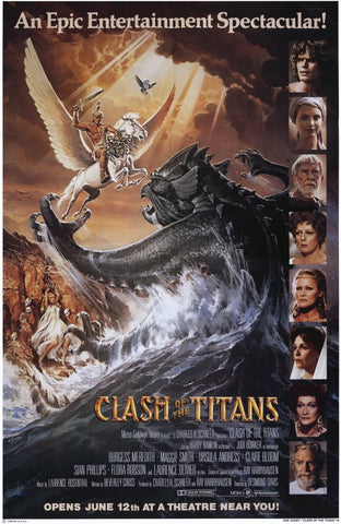 Clash of the Titans 11x17 Movie Poster (1981)