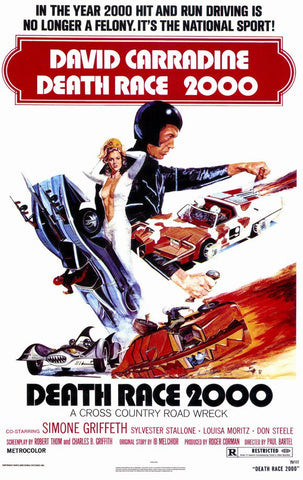 Death Race 2000 11x17 Movie Poster (1975)