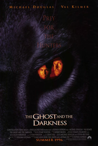 The Ghost and the Darkness 11x17 Movie Poster (1996)