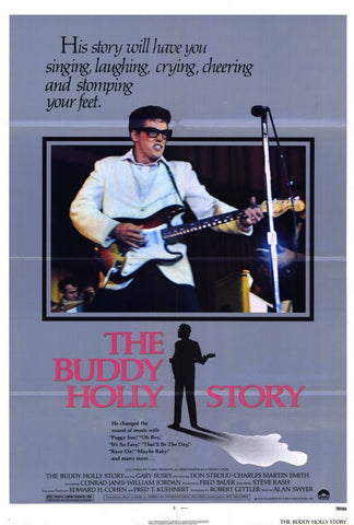 The Buddy Holly Story 27x40 Movie Poster (1978)