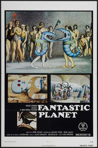 Fantastic Planet 27x40 Movie Poster (1973)