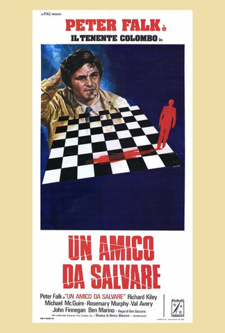 Columbo: A Friend in Deed (Italian) 27x40 Movie Poster (1974)