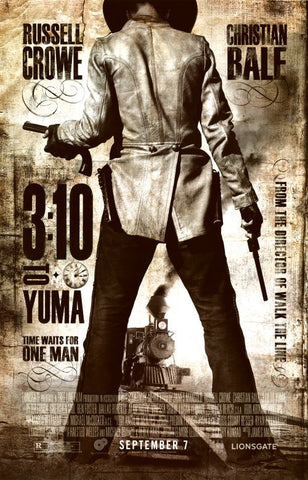 3:10 to Yuma 11x17 Movie Poster (2007)