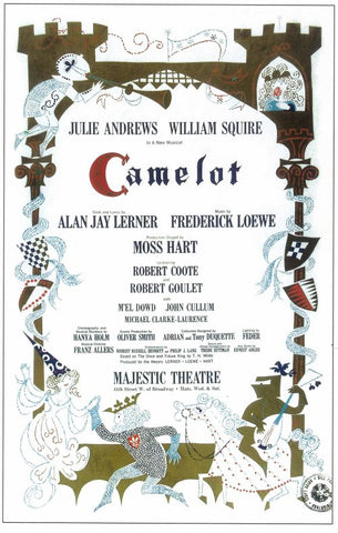 Camelot 14x22 Broadway Show Poster (1982)
