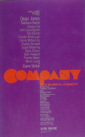 Company 11x17 Broadway Show Poster (1970)